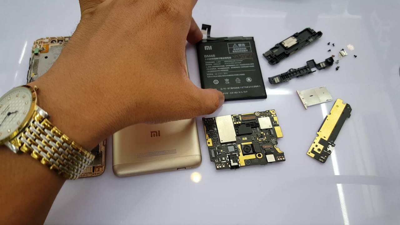 Thay chân sạc Xiaomi