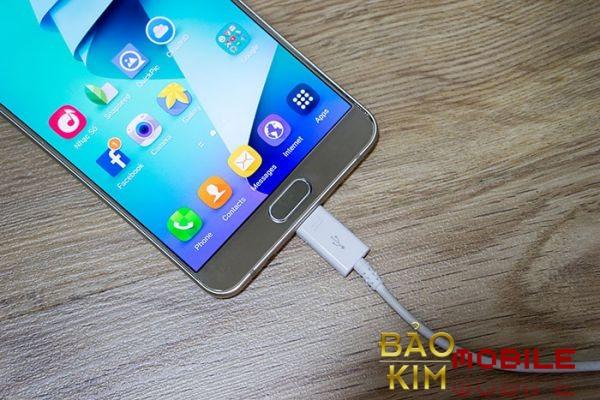 Thay chân sạc Samsung Note 5