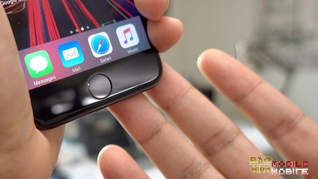 Sau khi thay thế, màn hình iPhone 7 đẹp như lúc mới mua
