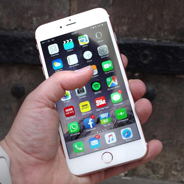 Thay mặt kính iPhone 6S Plus