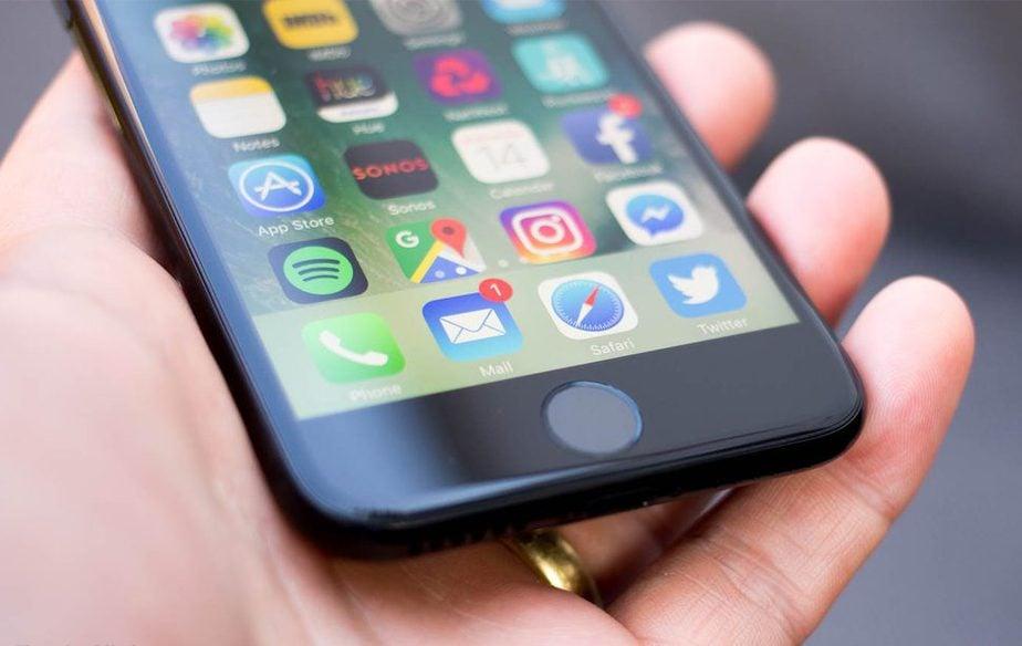 Ép kính iPhone 7 chính hãng