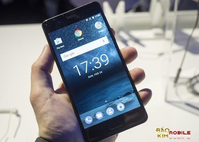 Bảo Kim mobile ép mặt kính Nokia 5 lấy liền
