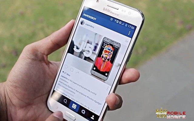 Thay mặt kính Samsung J5 2016 chính hãng.
