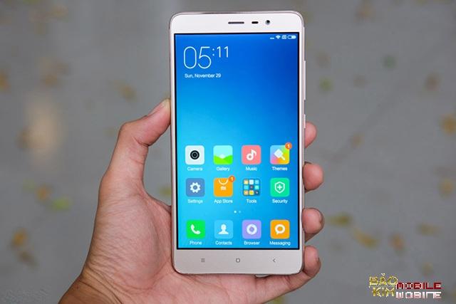 Thay mặt kính Xiaomi Redmi Note 3