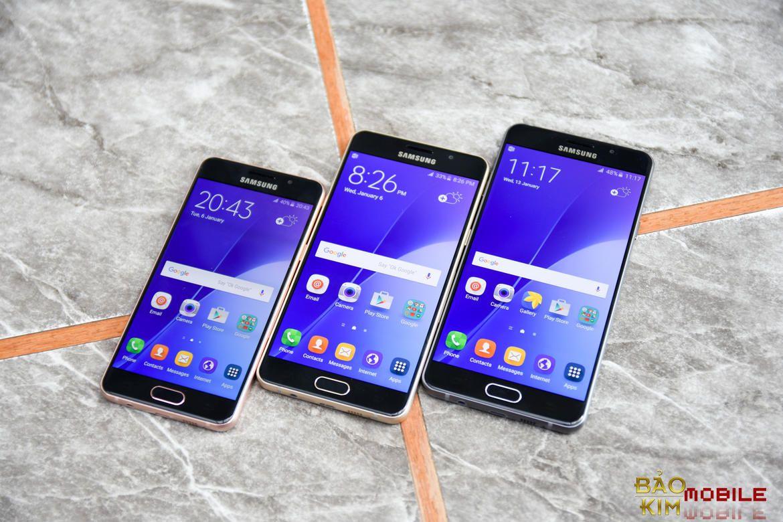 Dịch vụ thay chân sạc Samsung A3 model các năm tại Bảo kim mobile.
