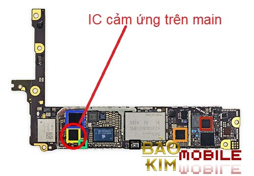 Thay IC cảm ứng iPhone 6 Plus, iPhone 6