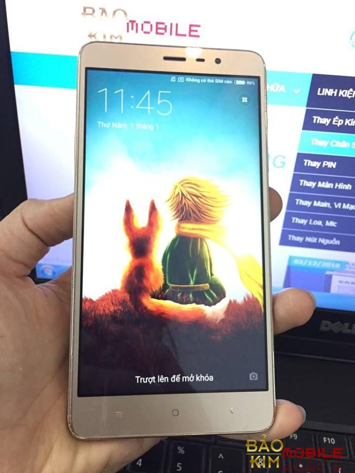 Thay màn hình Xiaomi Redmi Note 3 chính hãng với giá cực rẻ