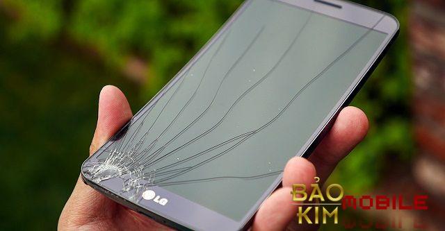 Bảo kim mobile chuyên thay mặt kính LG vỡ kính.