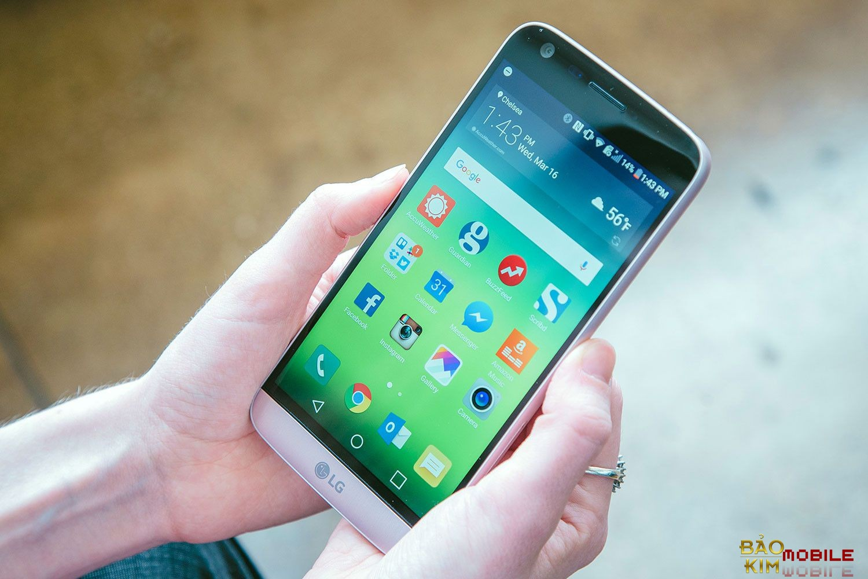 Thay mặt kính LG G5 giá rẻ tại Bảo kim mobile