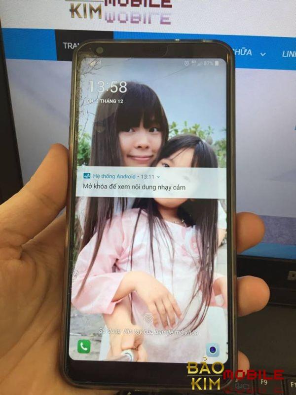 Thay mặt kính LG G6