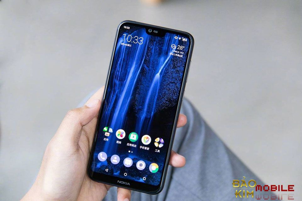 Ép kính Nokia X6 lấy ngay tại Bảo kim mobile