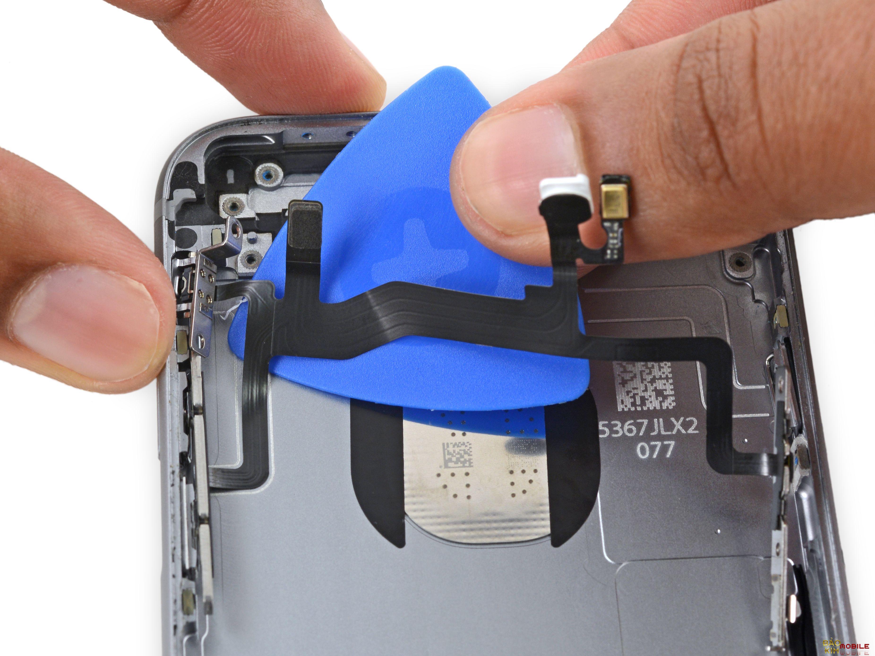 Thay nút gạt rung iPhone 6, 6 Plus