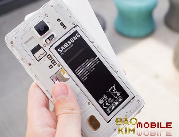 Người dùng cần quan tâm hơn về việc sử dụng pin Samsung Galaxy Note 4