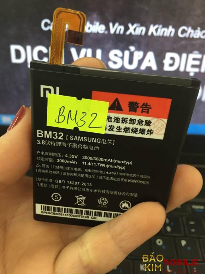 Thay pin Xiaomi Mi 4 BM32