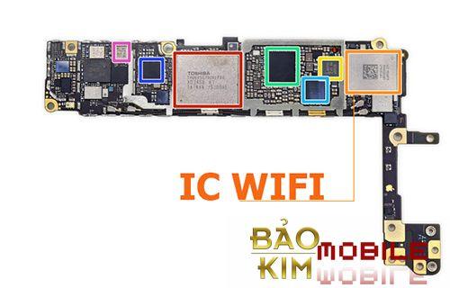 Sửa iPhone 6, 6s wifi yếu, mất wifi