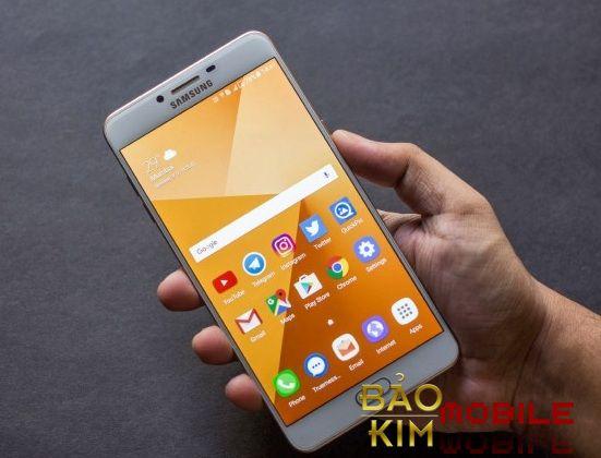 Bảo kim mobile cam kết thay mặt kính Samsung C9 Pro đạt chất lượng tốt cho khách hàng