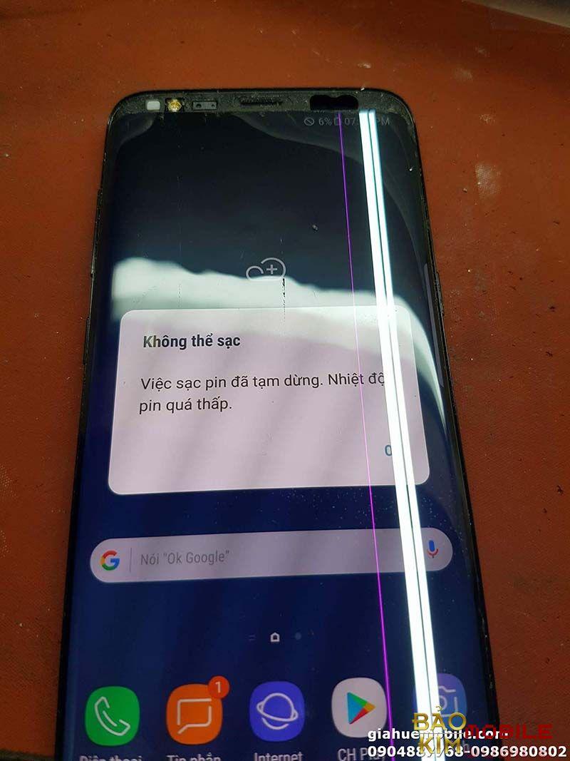 Samsung Note 8 báo nhiệt độ quá thấp, việc sạc pin đã tạm dừng