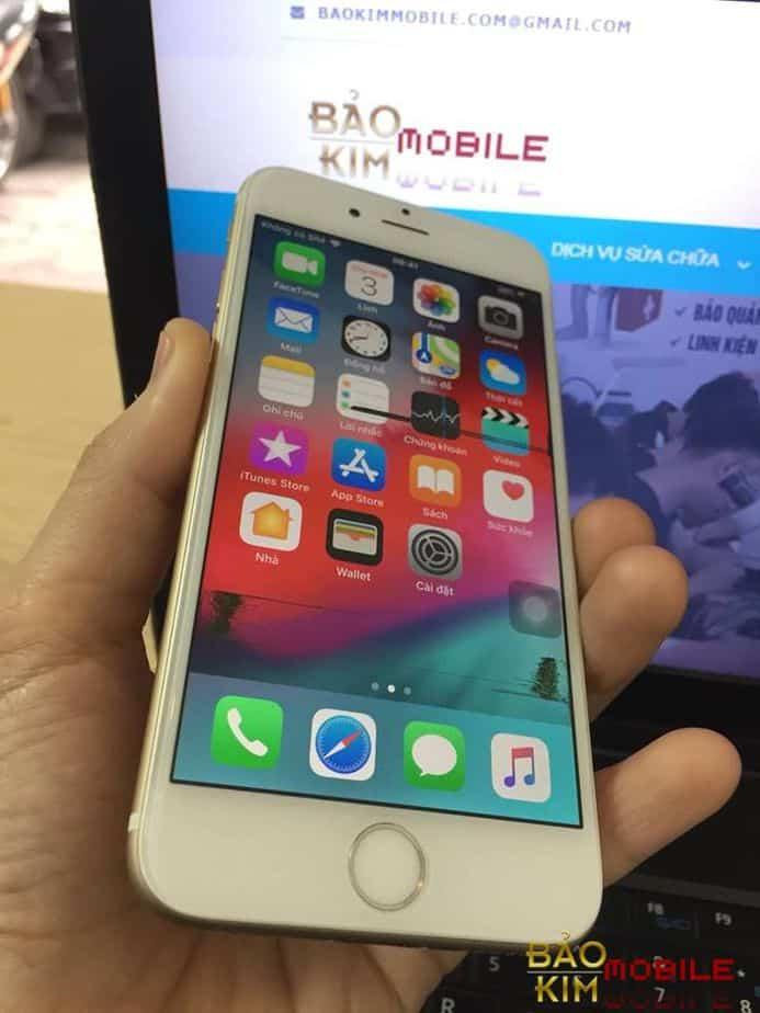 Bảo kim mobile nhận khắc phục iPhone 6 chảy mực, loang mực