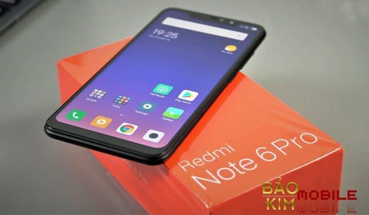 Thay mặt kính Xiaomi Redmi Note 6