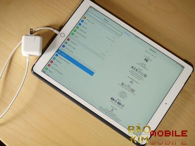 Sửa iPad mất nguồn, không lên nguồn