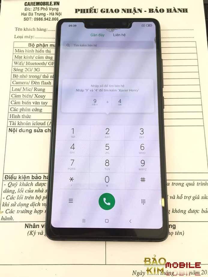 Thay chân sạc Xiaomi Mi 8/ Mi 8 SE
