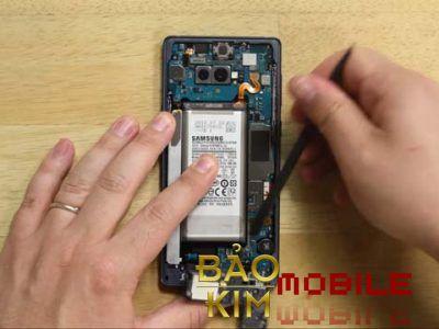 Qúy khách được bảo hành 03 tháng khi Thay chân sạc Samsung Note 9