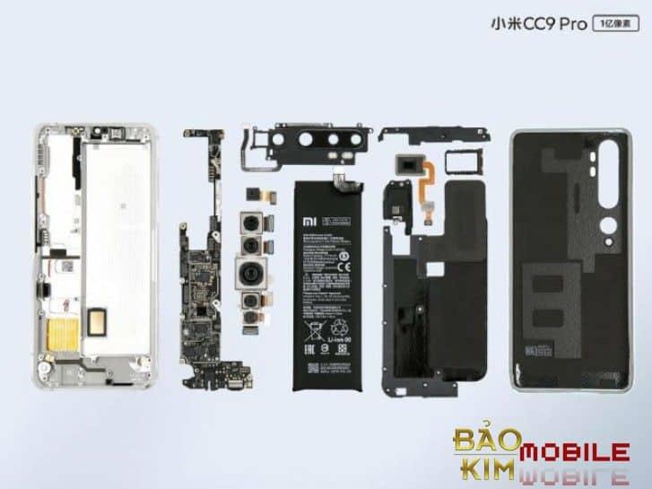 Thay chân sạc Xiaomi Mi Note 10, 10 Pro