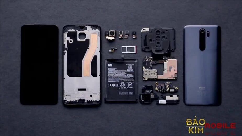 Thay mặt kính Xiaomi Redmi Note 8