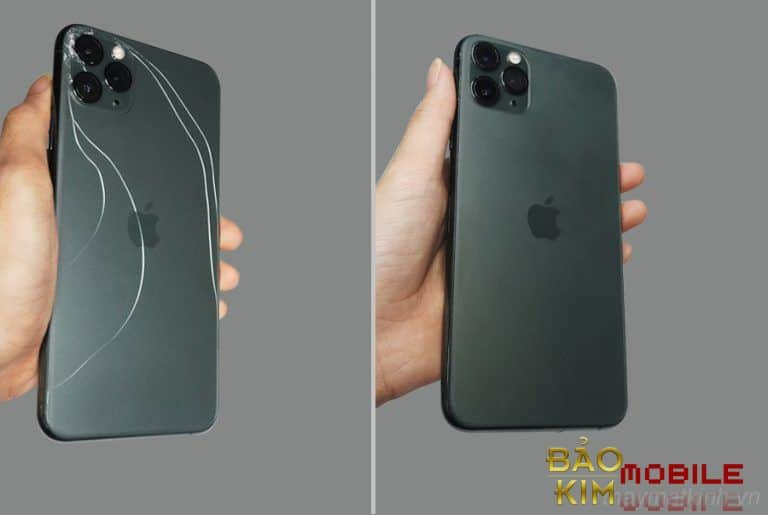 Thay nắp lưng iPhone Pro Max, 11 Pro, iPhone 11