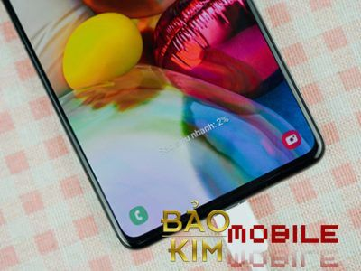 Thay mặt kính Samsung A71 Uy tín tại Bảo Kim Mobile
