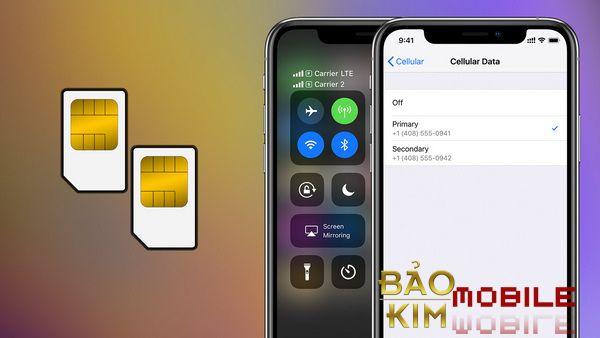Sửa iPhone X không nhận Sim như thế nào?