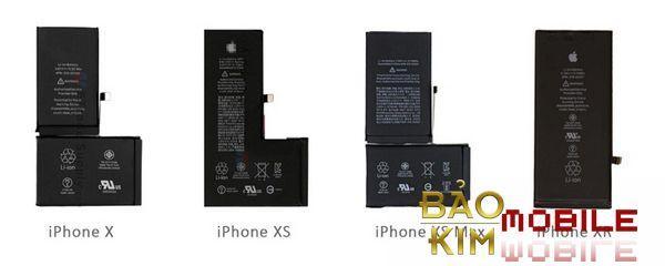 Thay pin iPhone X, Xs, Xs Max Chính hãng tại Hà Nội