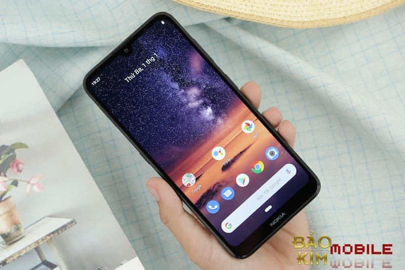 hình ảnh màn hình Nokia 7.2