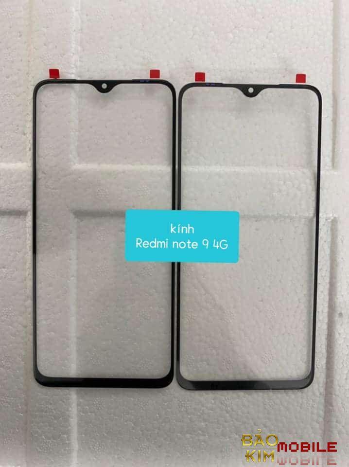 Thay mặt kính Redmi Note 9, 9 Pro