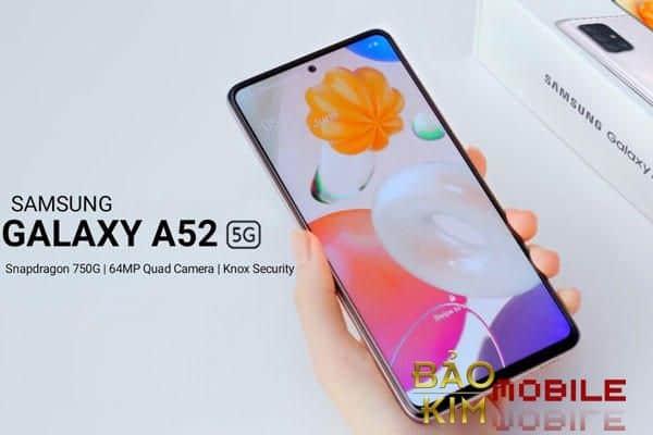 Thay màn hình Samsung A52 giá rẻ tại Bảo Kim Mobile