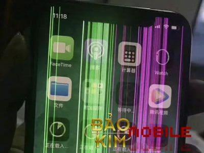 Màn hình iphone 11 bị hỏng