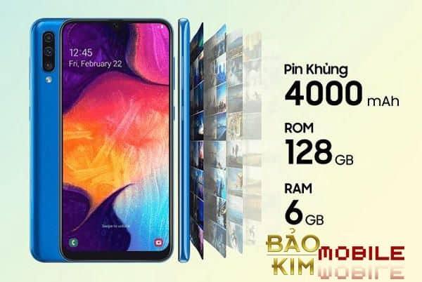 Samsung A52 có pin khủng