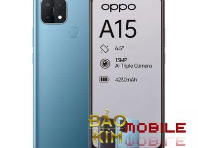 Thay mặt kính Oppo A15, A15s