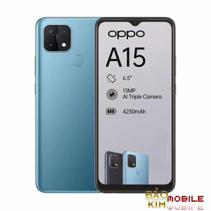 Thay ép kính Oppo A15, A15S