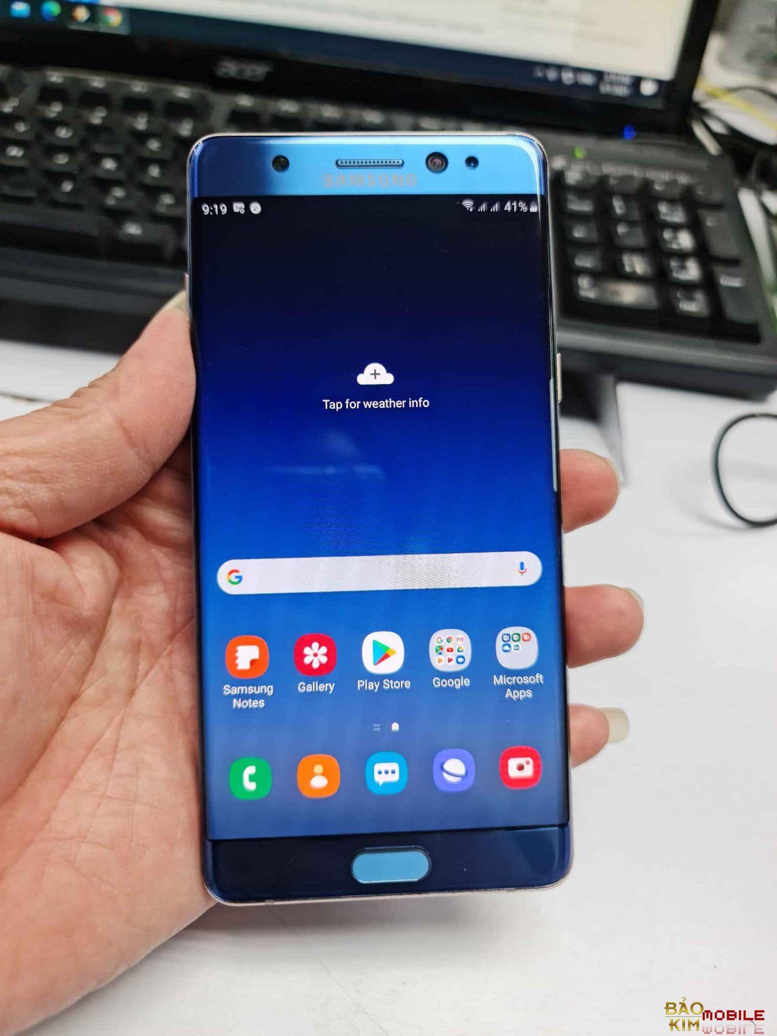 Sửa Samsung Note 7(Note FE) không lên nguồn