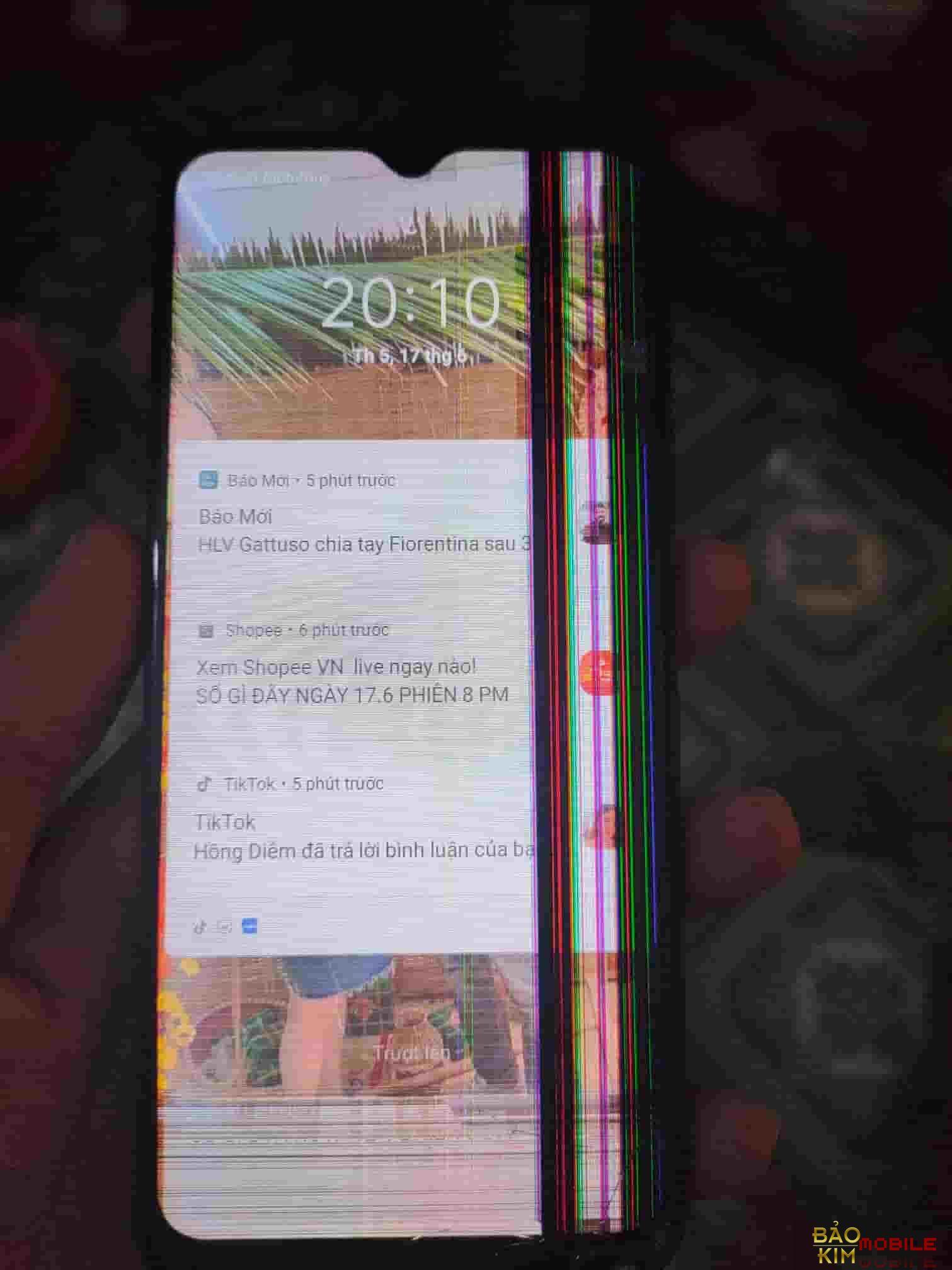 Hình ảnh phải Thay màn hình Realme C15 2021