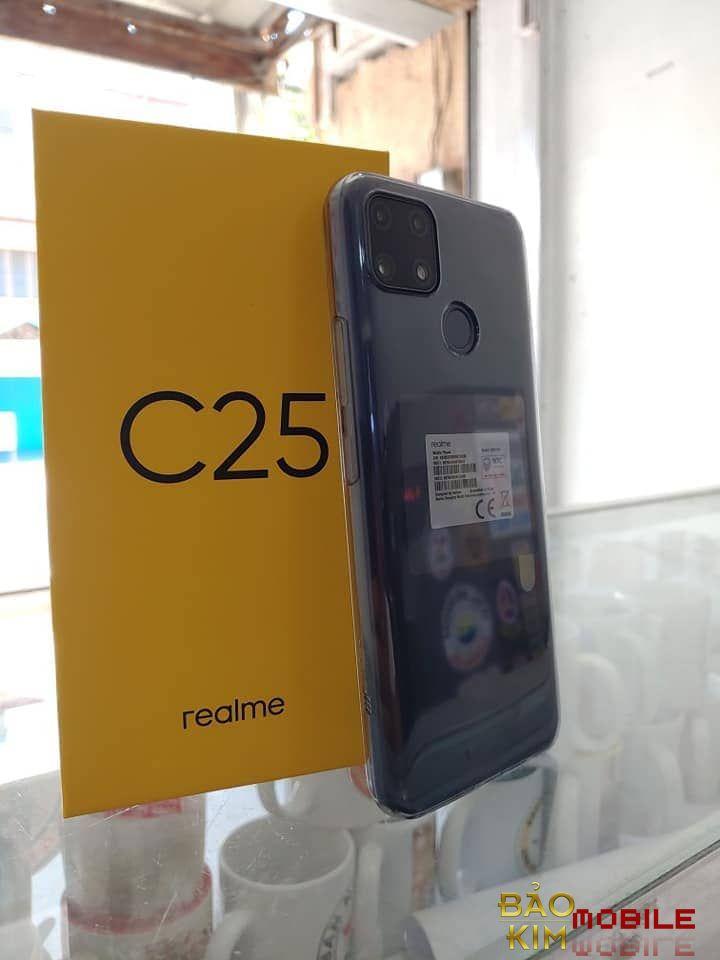 Hình ảnh Thay màn hình Realme C25 chính hãng
