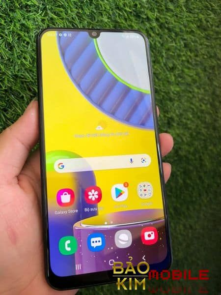 Hình ảnh khi thay xong màn hình Samsung A31