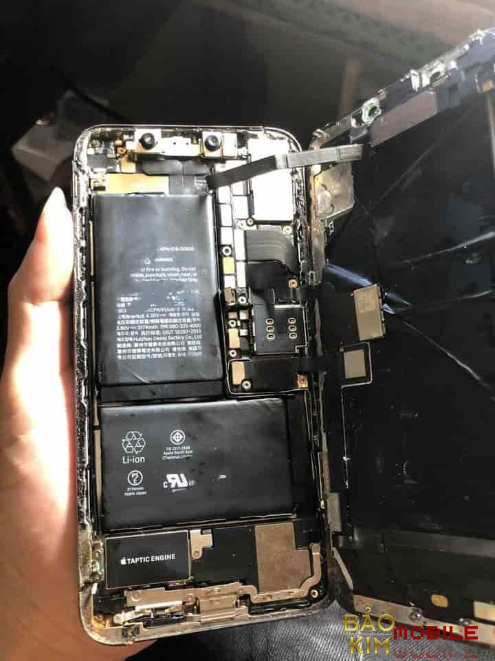 Khi Thay xong IC cảm ứng iPhone X Xs Max