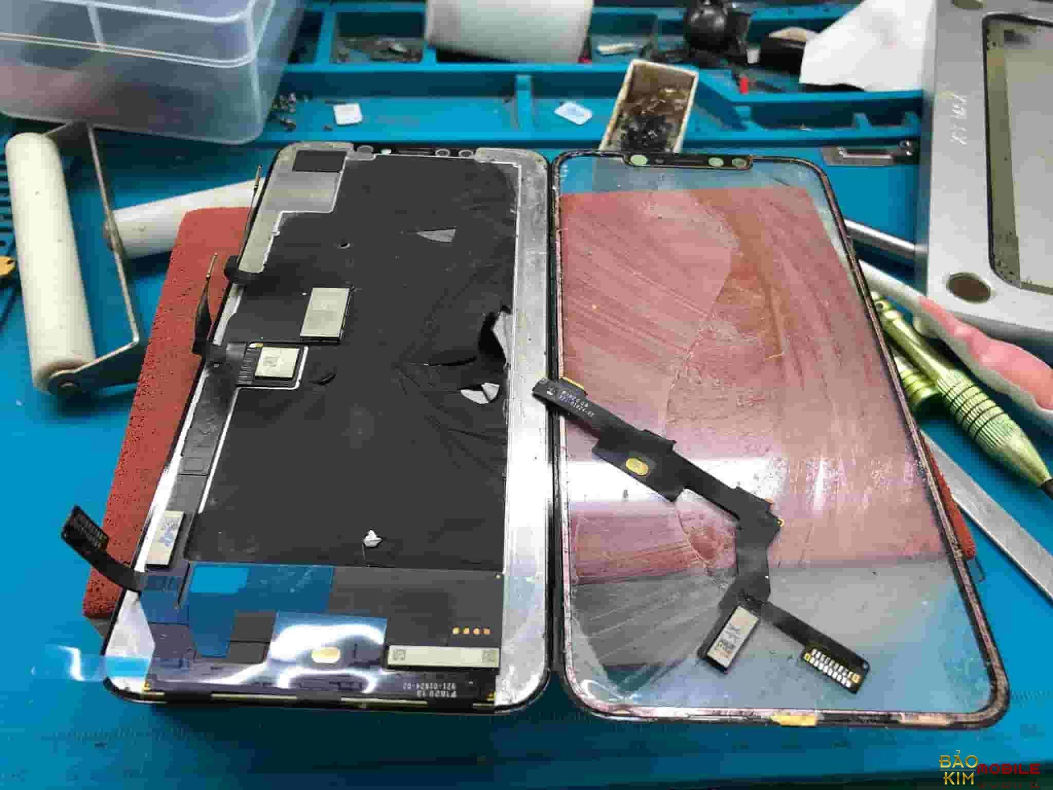 Sửa iPhone X, XS Max liệt cảm ứng, đơ cảm ứng
