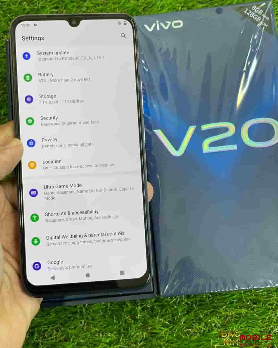 Thay màn hình Vivo V20 V20 2021 chính hãng