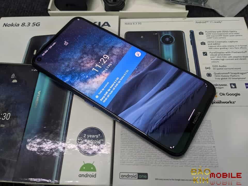 Thay mặt kính Nokia 8.3