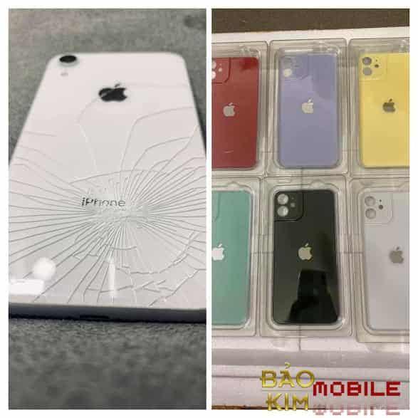 Thay nắp lưng iPhone XR