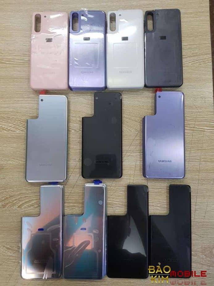 Thay nắp lưng Samsung S21, S21 Plus, S21 Ultra 5G