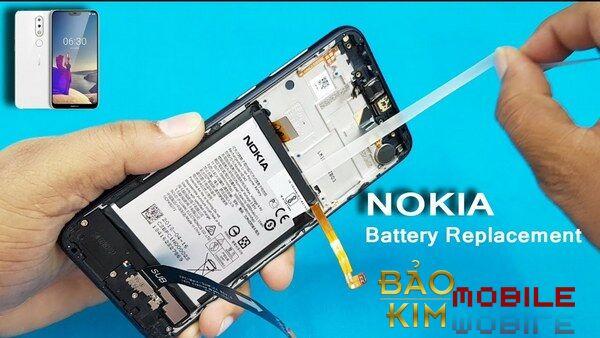 Thay pin Nokia 5.4